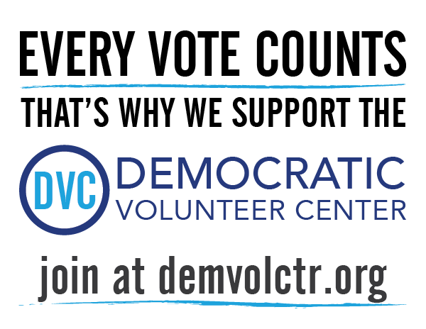 Every vote counts - that's why we support the DVC