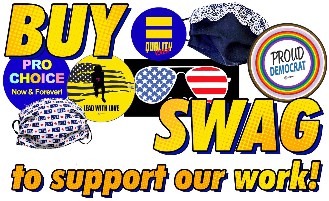 Buy swag to support our work!